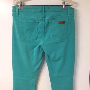 Joes jeans agua blue skinny ankle 32